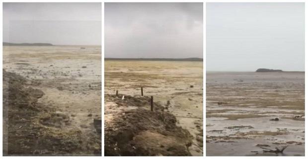 Τυφώνας Ίρμα: «Άδειασε» η θάλασσα στις Μπαχάμες από το πέρασμα του τυφώνα[βίντεο]