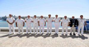 Επίσκεψη του Διοικητού της Ναυτικής Δύναμης του ΝΑΤΟ