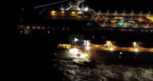 Βίντεο: Όταν ο πλοηγός δεν υπολογίζει τον ισχυρό άνεμο και το σκοτάδι!