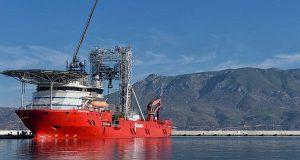 Πλοίο – γεωτρύπανο θα τρυπήσει σε βάθος 750 μέτρων τον Κορινθιακό