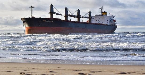 Προσάραξη ελληνόκτητου πλοίου στην Λιθουανία (photos)