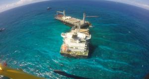 Τα τμήματα του ελληνικού πλοίου Kea Trader παραμένουν στην τοποθεσία προσάραξης