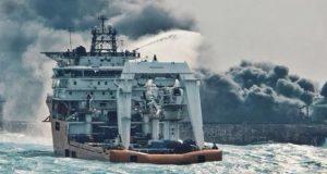 Βυθίστηκε το τάνκερ Sanchi και οι ελπίδες για επιζώντες (videos)