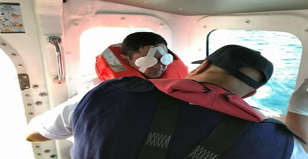 Τραυματισμένος ναυτικός σε ελληνόκτητο τάνκερ διασώθηκε στην Νότια Αφρική