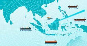 Μείωση της πειρατείας τον Ιανουάριο στην Ασία
