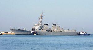 Το αντιτορπιλικό USS Bulkeley στο λιμάνι του Πειραιά [βίντεο]