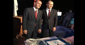 Oι Αγγελόπουλοι γιόρτασαν τα 20 χρόνια της «γαλανόλευκης» ARCADIA