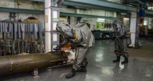 Άσκηση μείζονος ατυχήματος στο Ναυτικό Οχυρό Σκαραμαγκά