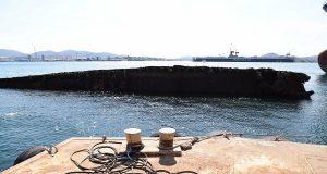 Μετά από 32 χρόνια, βγήκε σήμερα στην επιφάνεια της θάλασσας το «Κορφού Άιλαντ»