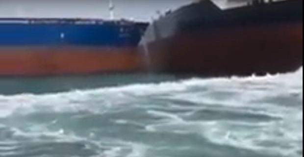 Η σωστή αντίδραση του Έλληνα καπετάνιου που απέτρεψε την σύγκρουση [βίντεο]