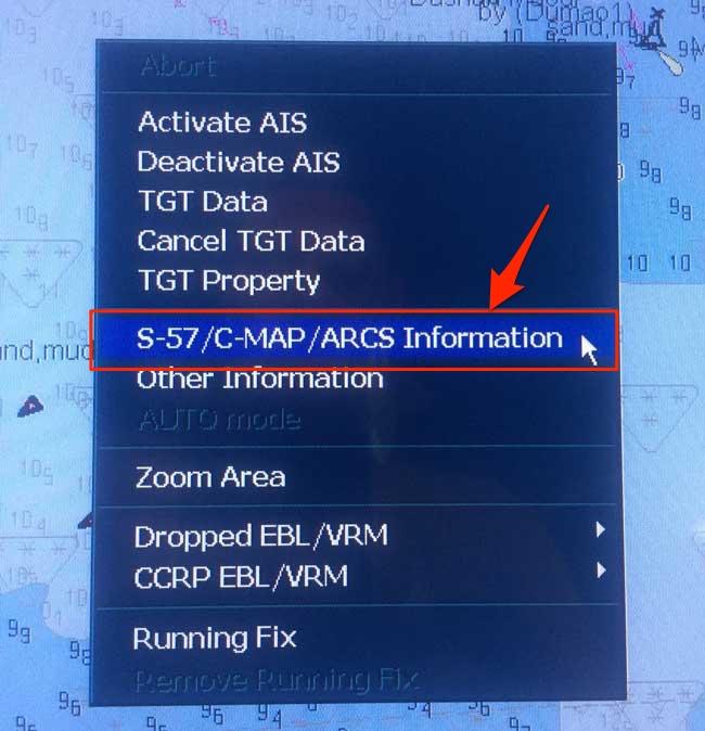 d61666c27c Κάντε κλικ στο Quality of data και θα εμφανιστεί η «Ζώνη Εμπιστοσύνης» για  αυτό το ENC.