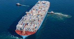 Παγκόσμιο ρεκόρ φόρτωσης κοντέινερ σε πλοίο της Maersk