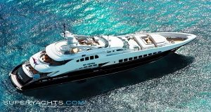 Το υπερσύγχρονο yacht «Irisha» αλλάζει χρώμα στον ήλιο…