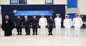 Τελετή ορκωμοσίας 3 Αξιωματικών Λ.Σ. – ΕΛ.ΑΚΤ. ειδικότητας Υγειονομικού