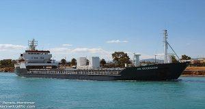 Πρόσκρουση φορτηγού πλοίου σε βραχονησίδα στη Μονεμβασιά