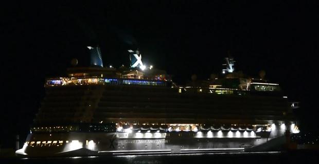 Celebrity Eclipse : Παρθενική άφιξη στο λιμάνι του Πειραιά [video]