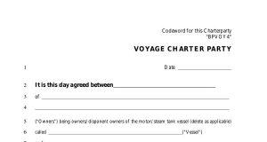 Ναυτιλιακό σεμινάριο με θέμα VOYAGE CHARTER PARTIES