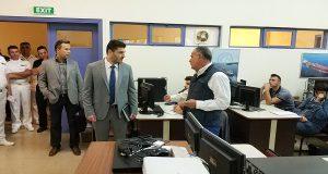 Επίσκεψη στο ΚΕΣΕΝ του Γενικού Γραμματέα του Υπουργείου Ναυτιλίας και Νησιωτικής Πολιτικής [φωτο]