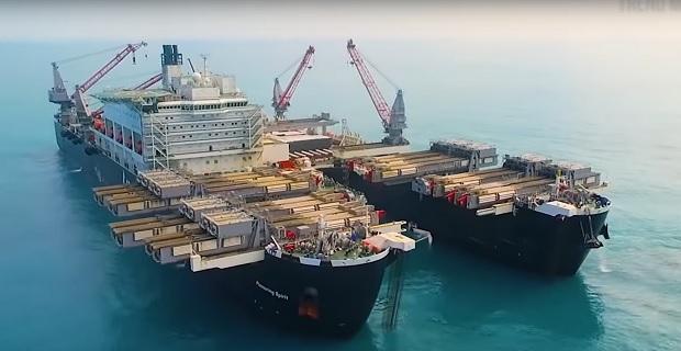 Τα 10 μεγαλύτερα πλοία του κόσμου μέσα από ένα βίντεο