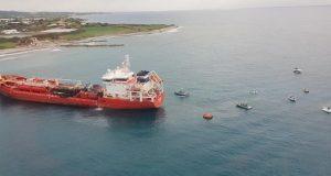 H VSS EPE αναλαμβάνει τη διαχείριση του ατυχήματος που προκλήθηκε μετά την έκρηξη στο πετρελαιοφόρο ATHLOS