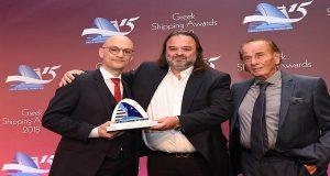 Η Seajets βραβεύτηκε ως 'Επιβατηγός Εταιρεία της χρονιάς!