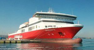Το «Superfast ΙΙ» προσέκρουσε στο λιμάνι της Πάτρας