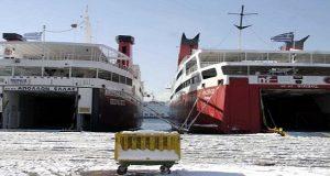 ΠΕΝΕΝ: Άμεση απαγόρευση των εξωτερικών εργασιών στα πλοία λόγω ψύχους