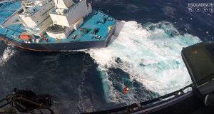Minerva Gloria: Η δραματική διάσωση του Έλληνα καπετάνιου στον Ατλαντικό[βίντεο]