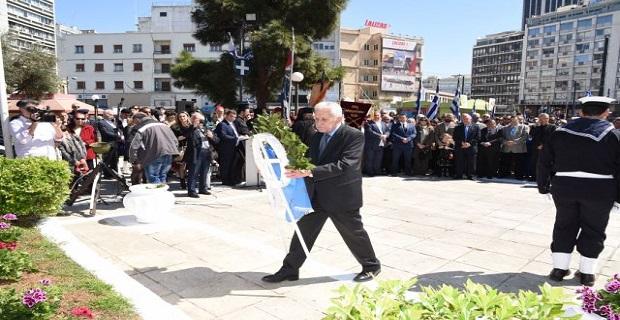 Φ.Κουβέλης: « Η Ελλάδα προχωράει μπροστά, οφείλουμε να εξασφαλίσουμε την ενότητά μας»
