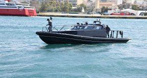 Τελετή παράδοσης 5 ταχυπλόων σκαφών αξίας 2,4 εκατομμυρίων δολαρίων, δωρεά της ΠΑΠΑΣΤΡΑΤΟΣ
