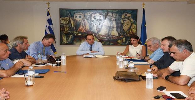 Συνάντηση ΠΝΟ – Υπουργού Ναυτιλίας