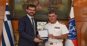 Δωρεά της Εταιρείας «Metrostar Management Corporation» στο Πολεμικό Ναυτικό